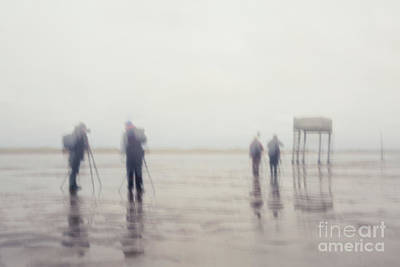 Northumbrian Photograph - Photographing Pilgrims Way by Tony Higginson
