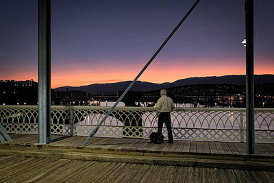 Photograph - Photographing The Sunset by George Taylor