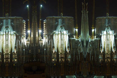 Rights Managed Images Photograph - Photography Lights N Shades Sagrada Temple Download For Personal Commercial Projects Bulk Printing by Navin Joshi