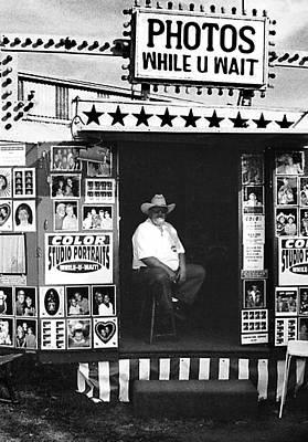 Cowboy Hat Photograph - Photos While U Wait by Todd Fox