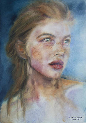 Top Model Painting - Phototype 1 by Ana Munoz