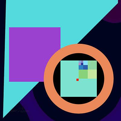 Digital Art - Pi R Square by Robert J Sadler