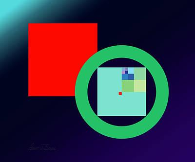 Digital Art - Pi R Square Three by Robert J Sadler