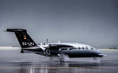 Photograph - Piaggio P-180 Avanti  by Hernan Bua