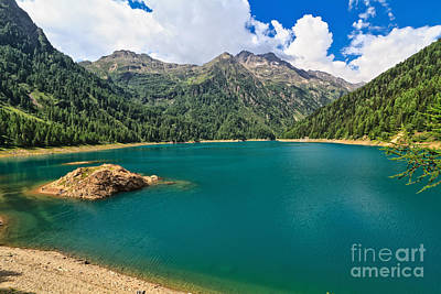 Photograph - Pian Palu Lake - Trentino by Antonio Scarpi