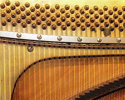 Photograph - Piano 9 by Rebecca Cozart