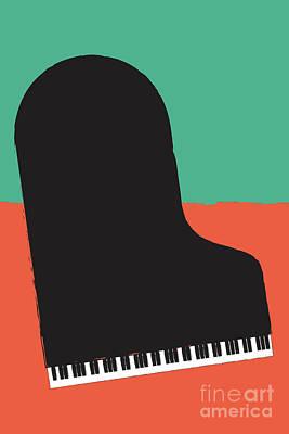 Digital Art - Piano by Benjamin Harte