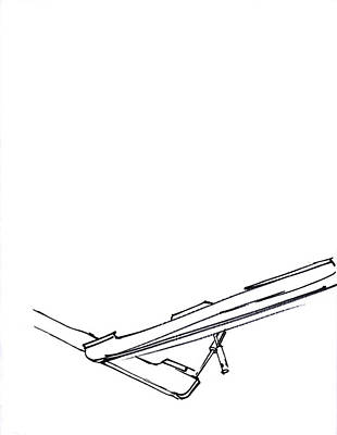 Mindful Drawing - Piano Drawing 2 by Chad Glass
