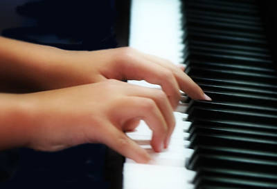 Photograph - Piano Hands by Kevin Phipps