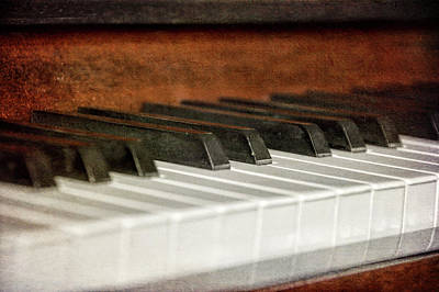 Photograph - Piano Keys by JAMART Photography