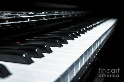 Photograph - Piano Keys by JR Photography