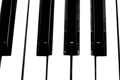 Photograph - Piano Keys - Music by Marie Jamieson
