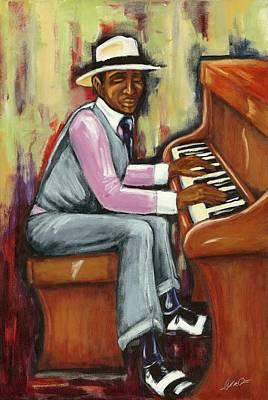 Painting - Piano Man by Daryl Price
