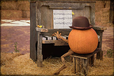 Photograph - Piano Man by Teresa Wilson