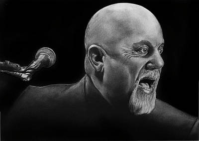Drawing - Piano Man by William Underwood