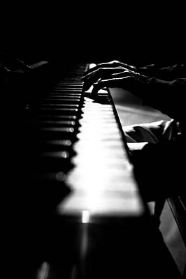 Piano Player Art Print