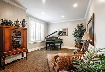 Photograph - Piano Room by Richard Lynch