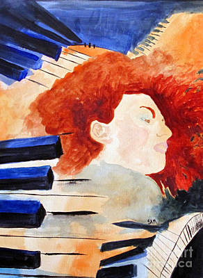 Painting - Piano by Sandy McIntire