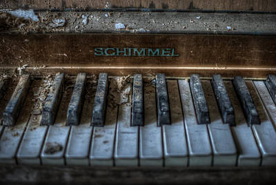 Digital Art - Piano Schimmel by Nathan Wright