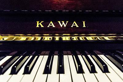 Kawai Photograph - Piano Time by Joel Rood