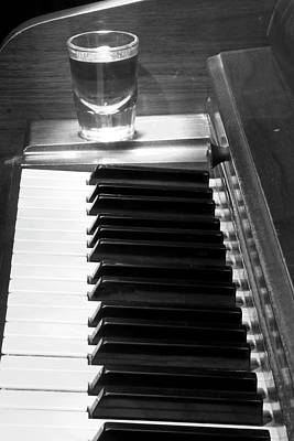Photograph - Piano Whiskey Row by James BO  Insogna