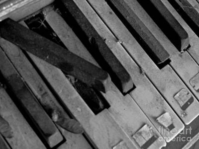 Photograph - Piano2 by Catherine Hill