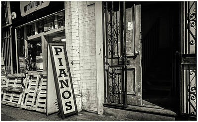 Photograph - Pianos by Stewart Marsden