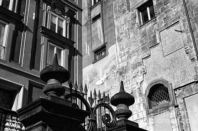 Photograph - Piazza Bellini Angles by John Rizzuto