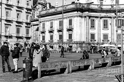 Photograph - Piazza Dante Day by John Rizzuto