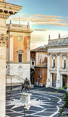 Photograph - Piazza Del Campidoglio by Weston Westmoreland