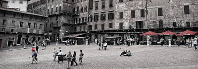 Photograph - Piazza Del Campo by Steven Greenbaum