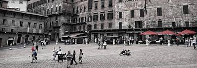 Photograph - Piazza Del Campo by Steven Greenbaum