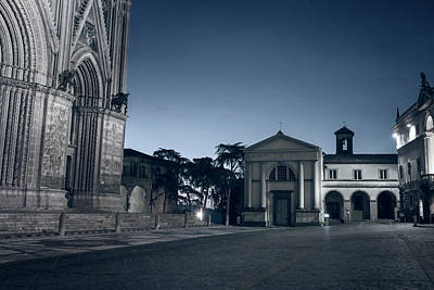 Photograph - Piazza Del Duomo Orvieto Italy II by Joan Carroll