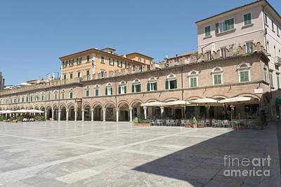 Photograph - Piazza Del Popolo In Ascoli Piceno by Fabrizio Ruggeri