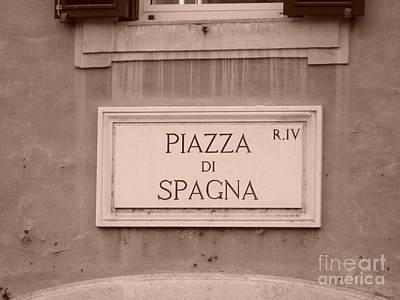 Photograph - Piazza Di Spagna by Tiziana Maniezzo
