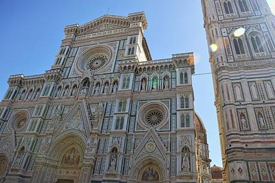 Photograph - Piazza Duomo Firenze by JAMART Photography