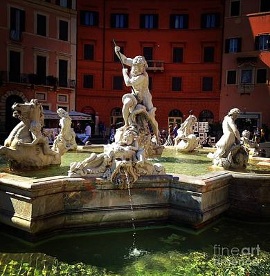 Photograph - Piazza Navona 6 by Angela Rath