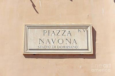 Photograph - Piazza Navona by Fabrizio Ruggeri