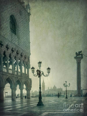 St. Mark Photograph - Piazza San Marco 2 by Marion Galt