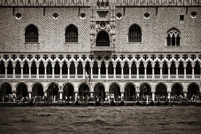 Photograph - Piazza San Marco Doge's Palace by Songquan Deng