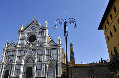 Photograph - Piazza Santa Croce by Andrew Dinh