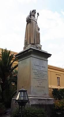 Photograph - Piazza St. Antonino, Sorrento, Italy by Judith Rhue