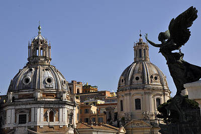 Photograph - Piazza Venezia by Andrew Dinh