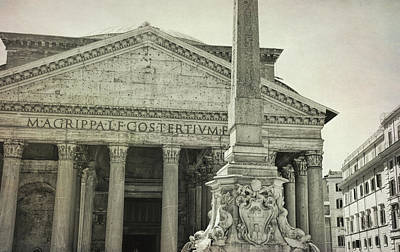 Photograph - Piazza View by JAMART Photography