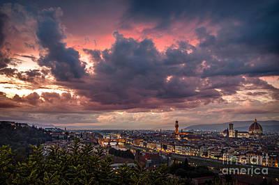 Piazzale Michelangelo Art Print