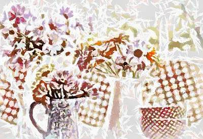 Pic Nic Digital Art - Pic-nic-in by Catherine Lott