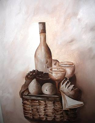 Painting - Pic-Nic by Michele Marie Catalano