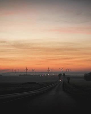 Photograph - Picardie Sunrise by Sebastien Chort