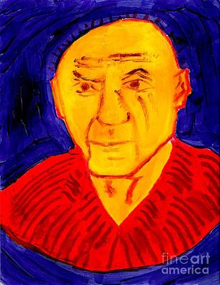 Painting - Picasso 1 by Richard W Linford