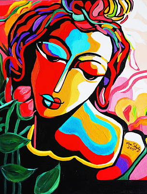 Painting - Picasso  Color Me by Nora Shepley